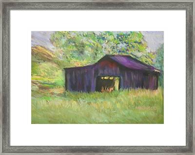The Old Barn I Framed Print