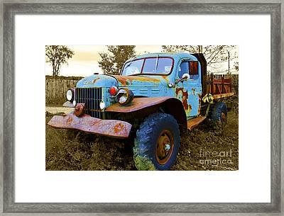 The Old Beater Framed Print