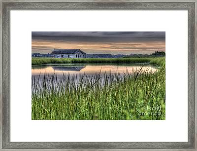 The Old Boathouse Framed Print