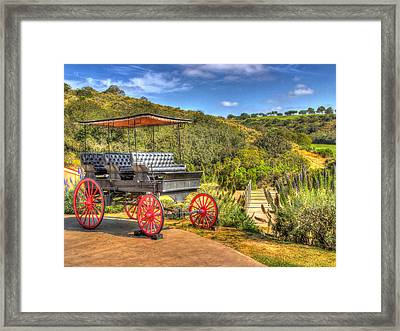 The Old Buggy Framed Print by Heidi Smith