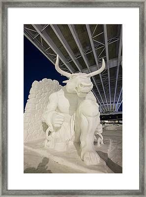 The Old Bull And Chain Framed Print by Tim Grams