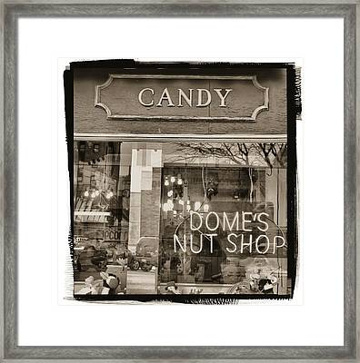 The Old Candy Store Framed Print by Dan Sproul