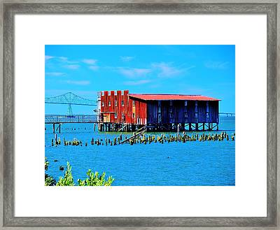 The Old Cannery Framed Print