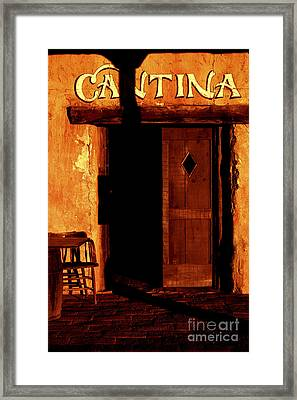 The Old Cantina Framed Print
