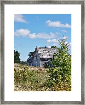 The Old Captain's Quarters Framed Print by Teresa McGill