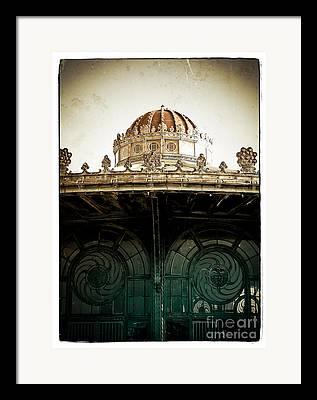 Asbury Park Carousel Framed Prints