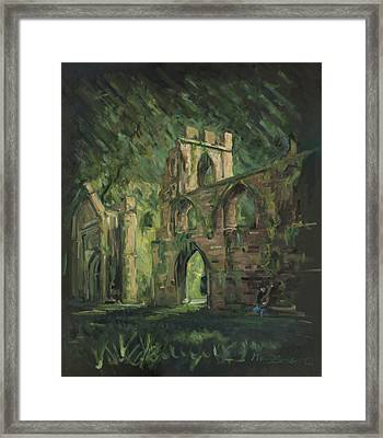 The Old Castle Framed Print by Marco Busoni