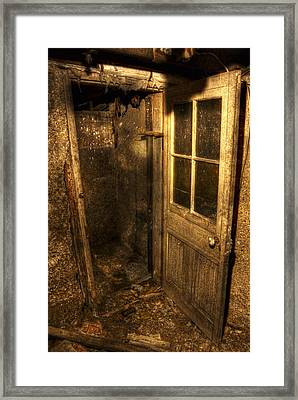 The Old Cellar Door Framed Print by Dan Stone