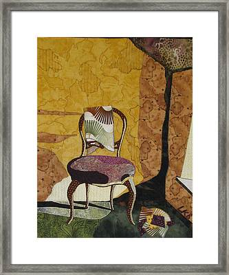 The Old Chair Framed Print by Lynda K Boardman