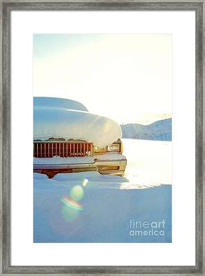 The Old Chevy Framed Print by Alanna DPhoto