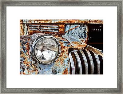 The Old Chevy  Framed Print by JC Findley