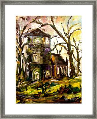 The Old Church Framed Print by Michelle Dommer