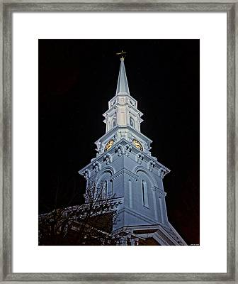 The Old Clock Tower 01 Framed Print