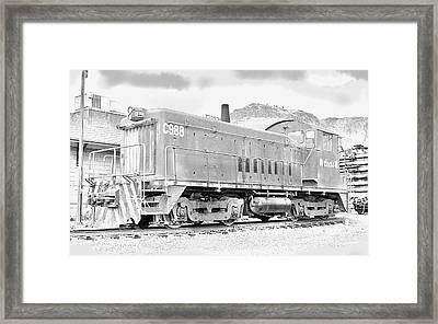 The Old Coors Switcher Framed Print by J Griff Griffin