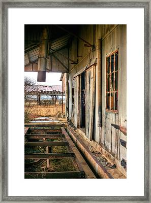 The Old Cotton Gin Framed Print by JC Findley
