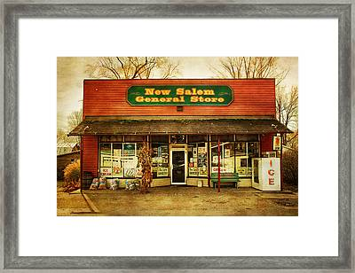 The Old Country Store Framed Print by Randall Nyhof