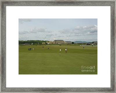 The Old Course Framed Print
