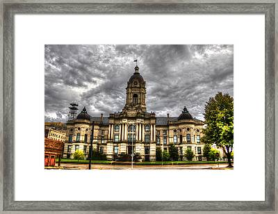 The Old Court House Framed Print by Todd Carter