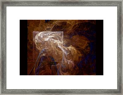 The Old Crone Framed Print