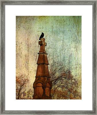 The Old Cross Framed Print by Gothicrow Images