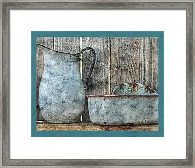 The Old Days Framed Print by Bonnie Bruno