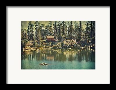 Cabins Framed Prints