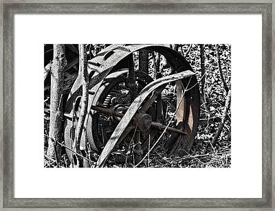 The Old Days Framed Print