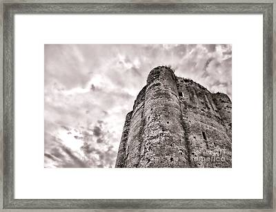 The Old Dungeon Framed Print by Olivier Le Queinec