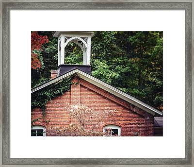 The Old Erie Schoolhouse Framed Print by Lisa Russo