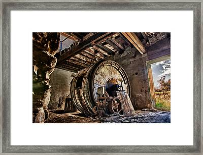 The Old Factory Framed Print by Emmanouil Klimis