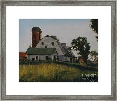 The Old Farm In Fredrick Maryland Framed Print