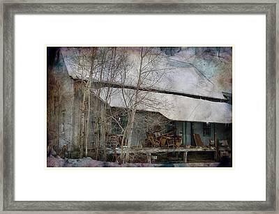 The Old Feed Mill Framed Print by Cynthia Nichols