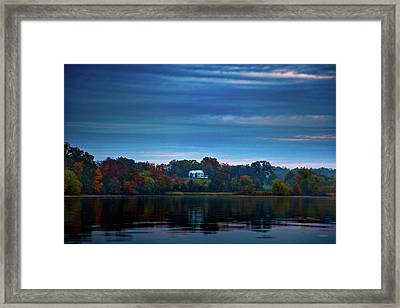 The Old Ferry House Framed Print by Steven Llorca