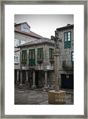 The Old Firewood Marketplace Framed Print