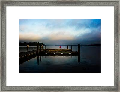 The Old Fishing Spot Framed Print