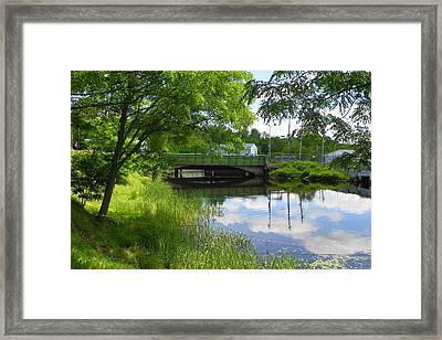 The Old Float Is Gone Framed Print