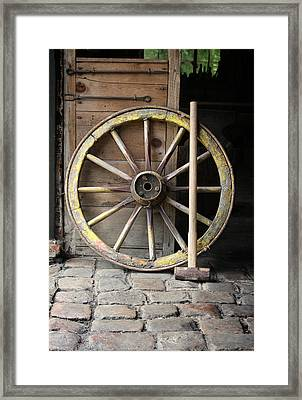 The Old Forge  Framed Print by Stephen Norris