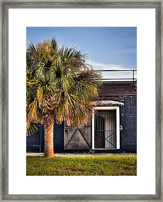 The Old Fort-color Framed Print