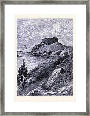 The Old Fort Dumpling United States Of America Framed Print