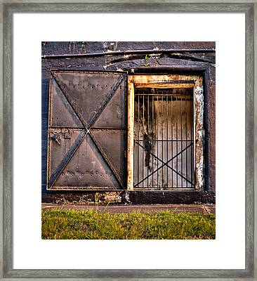 The Old Fort Gate-color Framed Print by Andrew Crispi