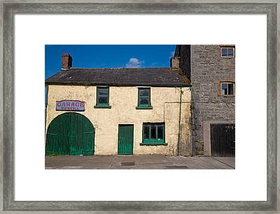The Old Garage, Glanworth, County Cork Framed Print by Panoramic Images