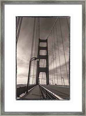 The Old Gate Framed Print by Jonathan Nguyen