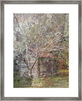 The Old Gear Shed Framed Print