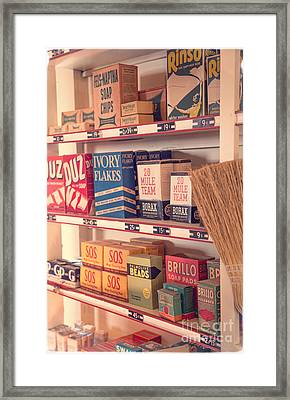 The Old General Store Framed Print by Edward Fielding