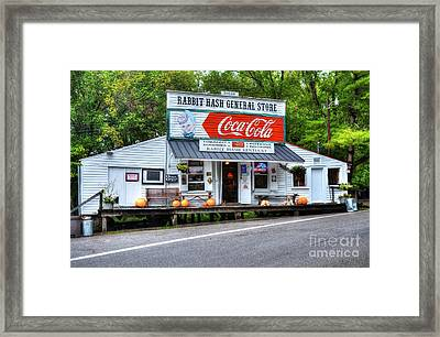 The Old General Store Framed Print by Mel Steinhauer