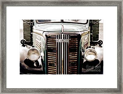 The Old Gmc Framed Print by Steven  Digman