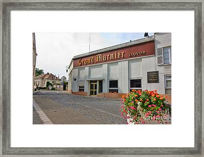 The Old Grand Marnier Distillery Framed Print by Olivier Le Queinec