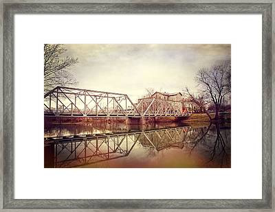 The Old Grist Mill Framed Print by Lena Wilhite
