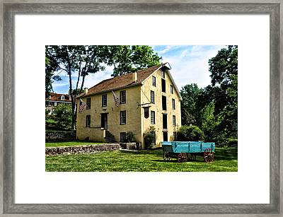 The Old Grist Mill  Paoli Pa. Framed Print by Bill Cannon