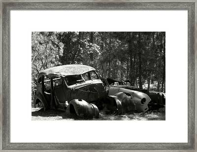 The Old Guys Framed Print